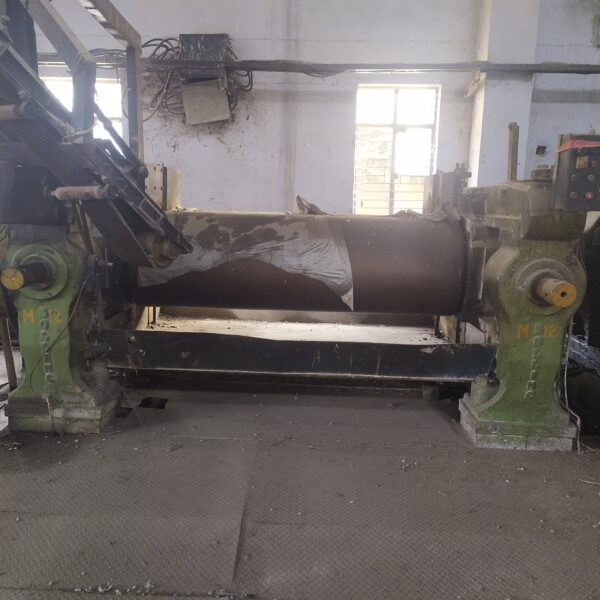 """Rubber Mixing and Grinder Dual Mill Size 26"""" X 84"""""""