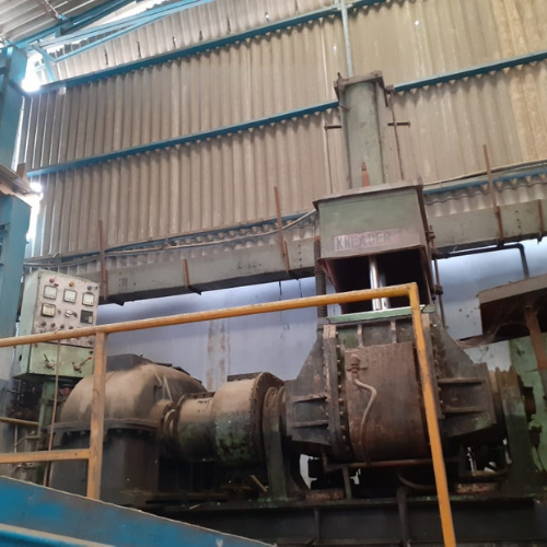 Used Rubber Dispersion Kneader
