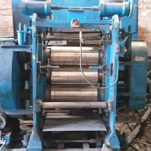 Rubber Sheeting Calendering line 10x24
